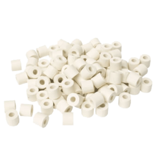 100 PKG Injector End Seals, White
