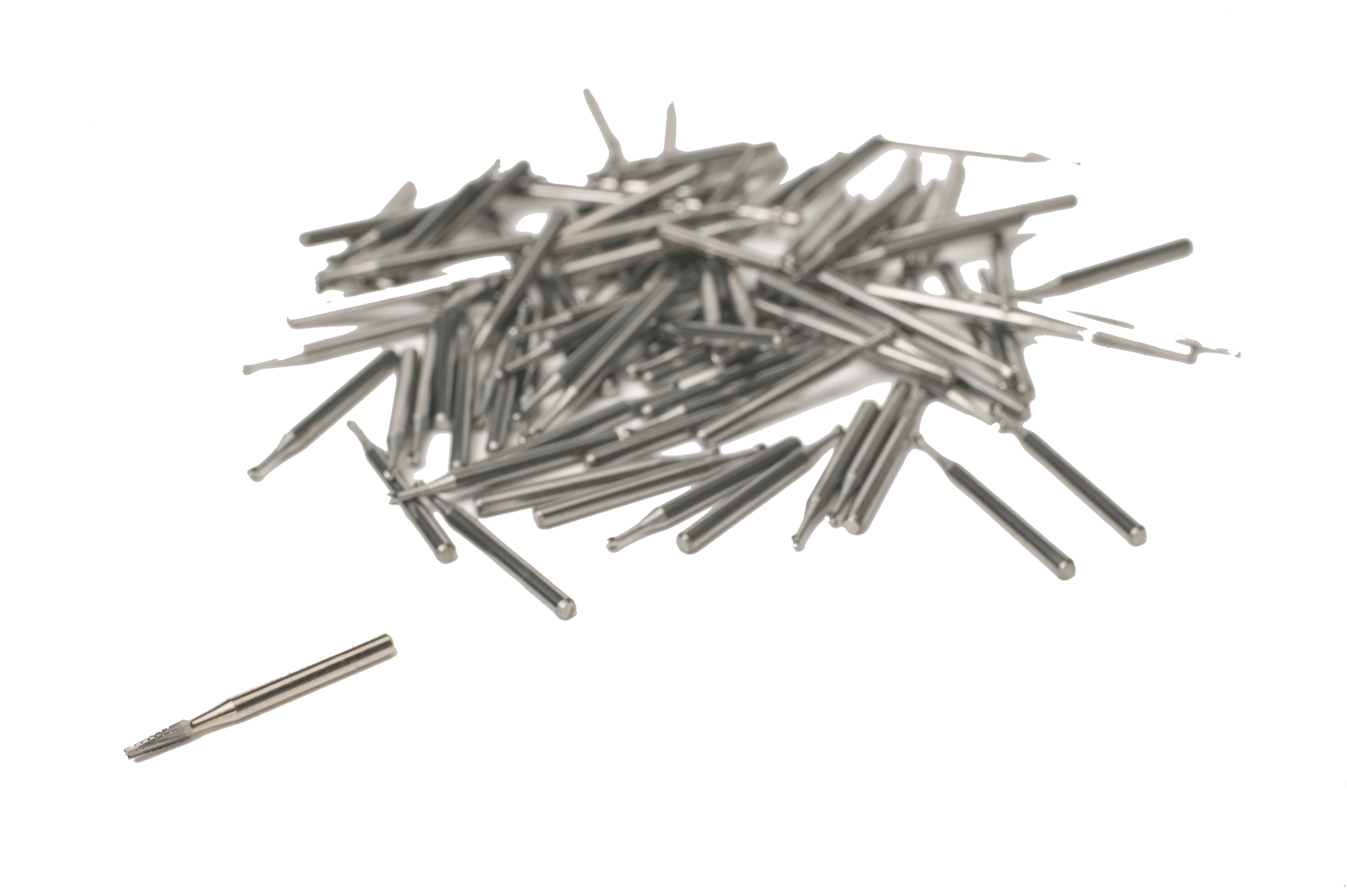 Tapered .047 Carbide Burs Pkg of 100